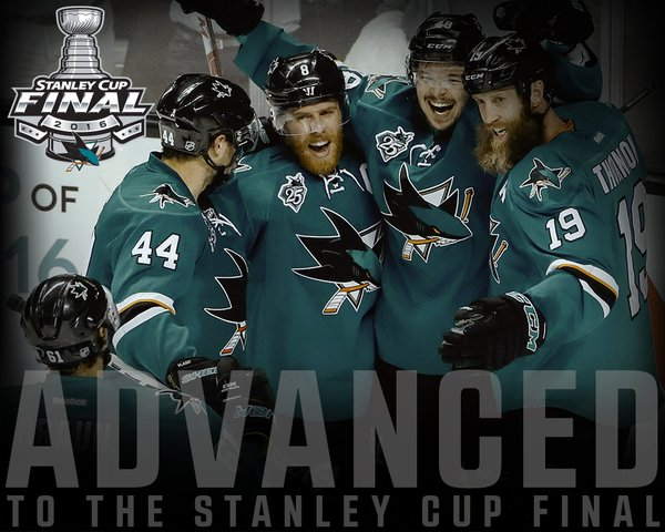 San Jose sharks advance to Stanley Cup final