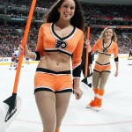 Philadelphia Flyers NHL Ice Girl