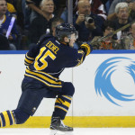 Eichel fires first NHL goal past Anderson