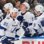 Stamkos posts 500th point in win over Bruins