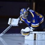 Allen Taking Over Blues' Crease