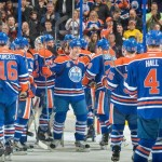 Oilers win thriller on 'Glen Sather Night'