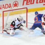 Oilers edge Coyotes in shootout, end losing skid