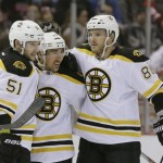 Replay: Brad Marchand sets Bruins fastest goal record