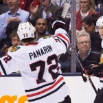 Rookie star Artemi Panarin records first NHL hat trick