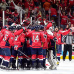 Oshie scores hat trick, lifts Caps to Game 1 win in OT