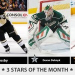 NHL stars of the month: March