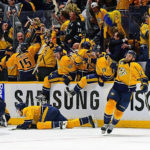 Mike Fisher clinches Game 4 for Nashville in triple overtime