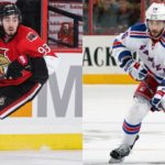 Senators trade Mika Zibanejad to Rangers for Derick Brassard