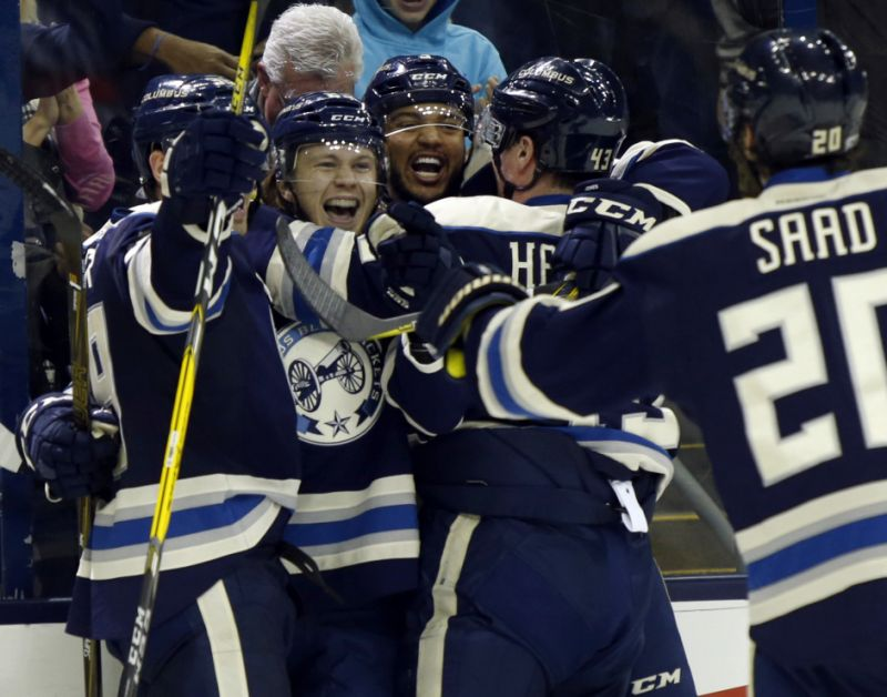 Video: Columbus Blue Jackets' historic 16-game winning streak ...