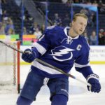 Stamkos practices with Lightning, still unsure of return this season