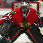 Blackhawks' Corey Crawford back in net for first time since December