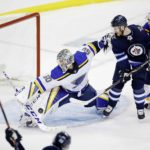Binnington stands tall in Game 1 win over Winnipeg